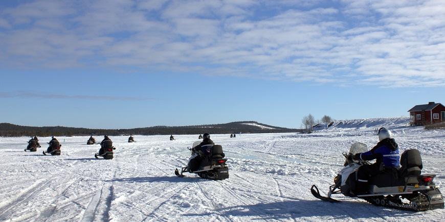 Snowmobile Experience - Visit Inari, Finland, Lapland
